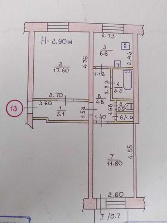 Продажа 2-х комнатной уютной сталинки ул. Соборности (2 линия)