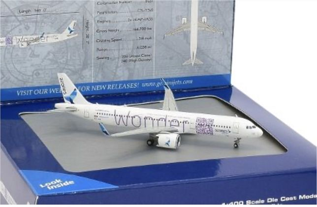 Azores Airlines A321 WONDER 1:400