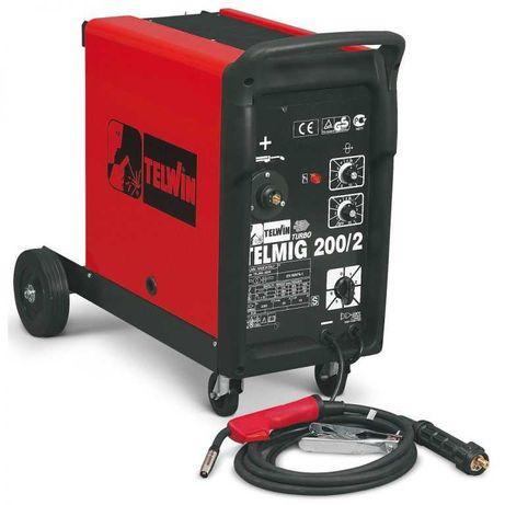 Máquina Soldar - TELWIN Telmig 200/2 Turbo + Oferta de manómetro