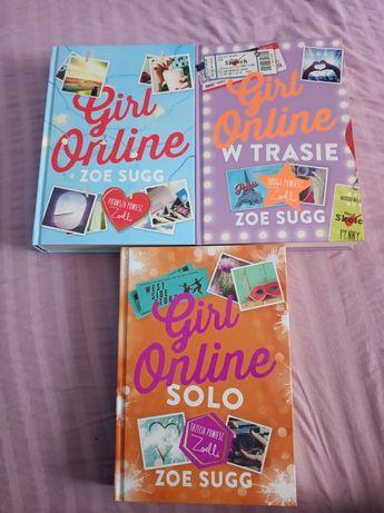 """""""Girl Online"""" Zoe Sugg, trzy części"""