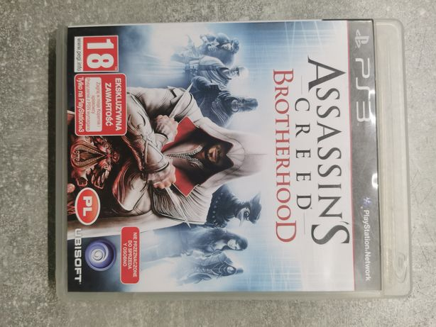 Gra ps3 assassins creed brotherhood ps3