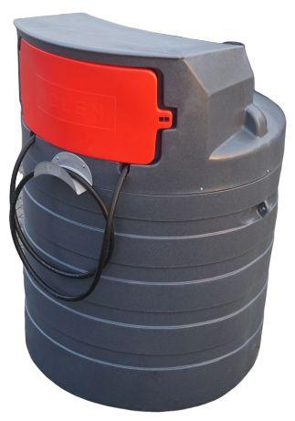 Zbiornik dwupłaszczowy paliwo olej 1500L NOLEN