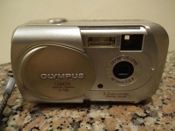 Máquina Fotográfica Olympus Camedia 3.2 Megapixel Digital Zoom