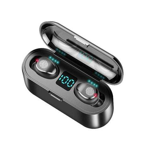 (NOVO) AIRPODS Bluetooth 5.0 compatível com IOS/Android/Microsoft