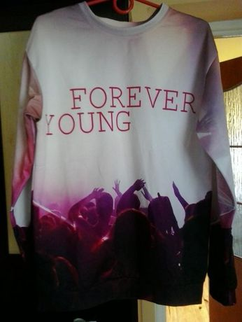 Bluza love it, forever young
