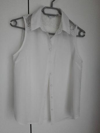 Szyfonowa bluzka z kołnierzykiem Tally Weijl 36