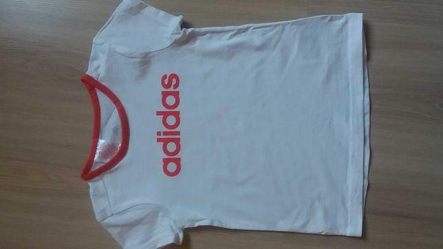 Bluzka koszulka ADIDAS dziewczęca rozmiar 98