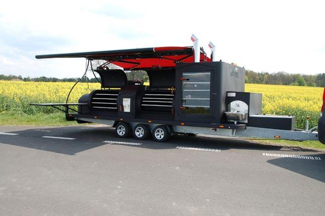 smoker mobilny grill ,przyczepa gastronomiczna Texas 1 XXL