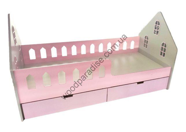 Кровать домик ліжко дитяче будинок підліткове