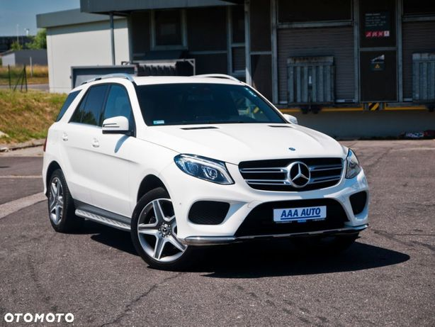 Mercedes-Benz GLE GLE 250d, Salon Polska, Serwis ASO, 201 KM, Automat, Skóra, Navi,