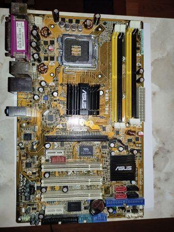 Материнская плата ASUS P5L 1394 Socket 775
