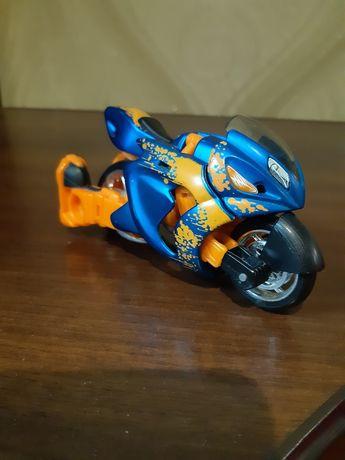 мотоцикл maisto трансформер