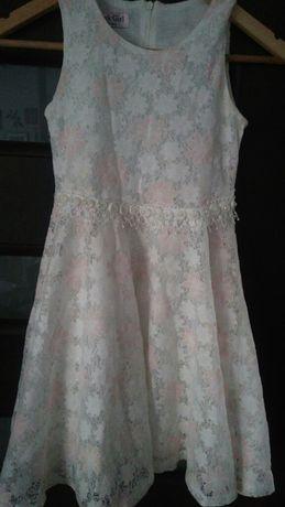 Sukienka koronkowa rozmiar 128