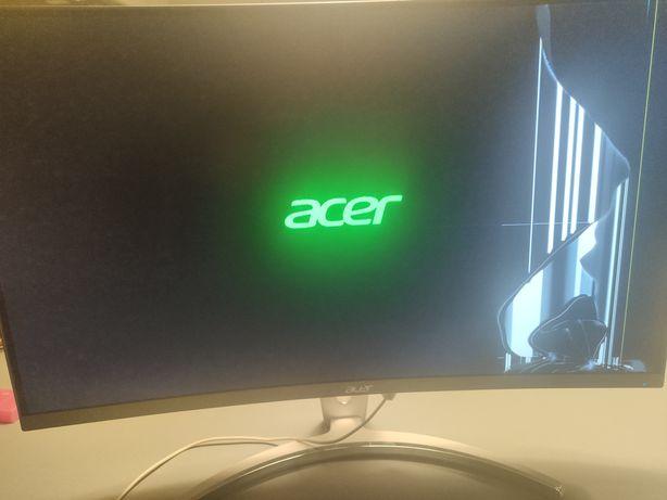 Monitor Acer ed273 uszkodzona matryca