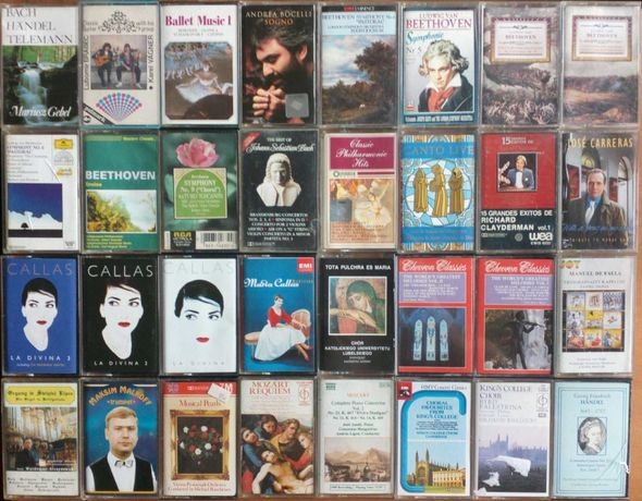 Kasety magnetofonowe muzyka klasyczna opera wysyłka