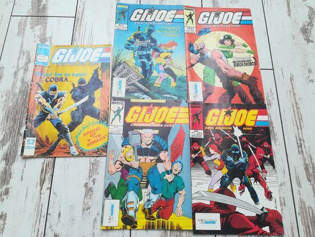 G.I Joe zestaw komiksów