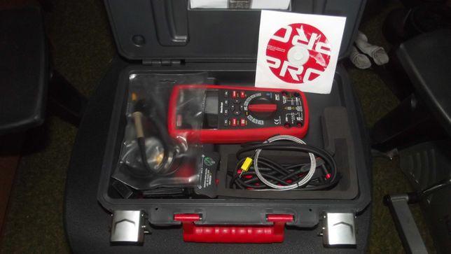 Мультиметр с одноканальным осцилографом