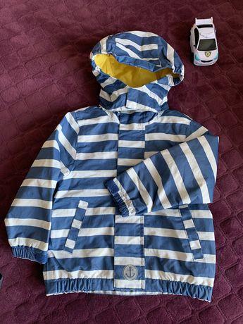 Курточка ТСМ из непромокаемой ткани+ штанишки