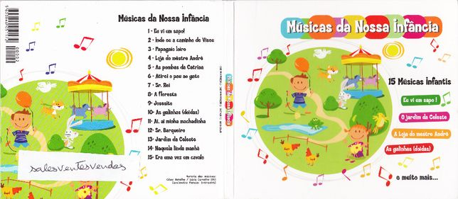 Músicas da Nossa Infância (15 Músicas infantis)