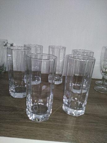 6 wysokich szklanek, jak nowe