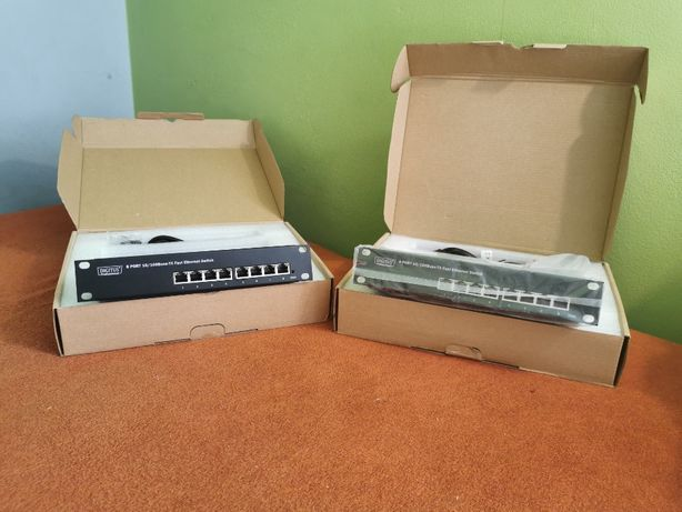 2x Ethernet Switch firmy Digitus,