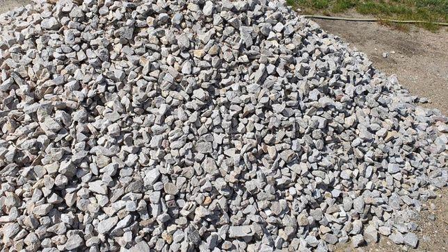 Tłuczeń kolejowy 31-64 mm kamień ozdobny kruszywo na drogi i ogrody