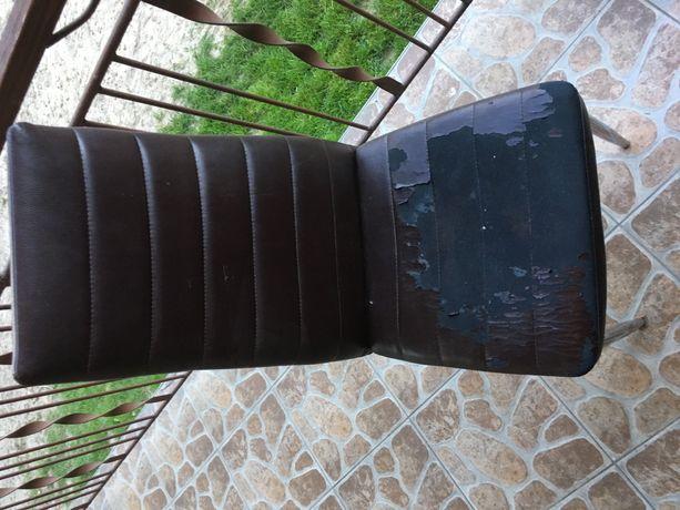 4 Krzesła do jadalni/kuchni/pokoju gościnnego 4 sztuki brązowe