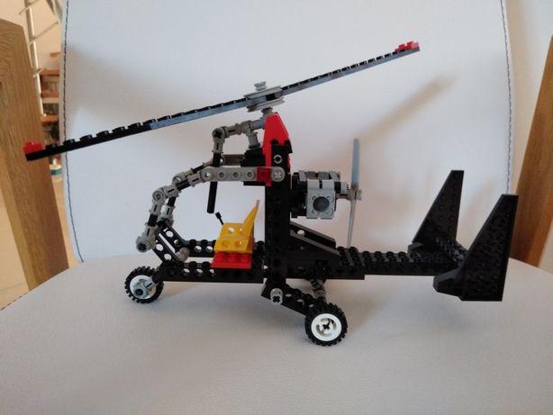 stare Klocki LEGO Technic Wiatrakowiec 8836 śmigłowiec helikopter 8825