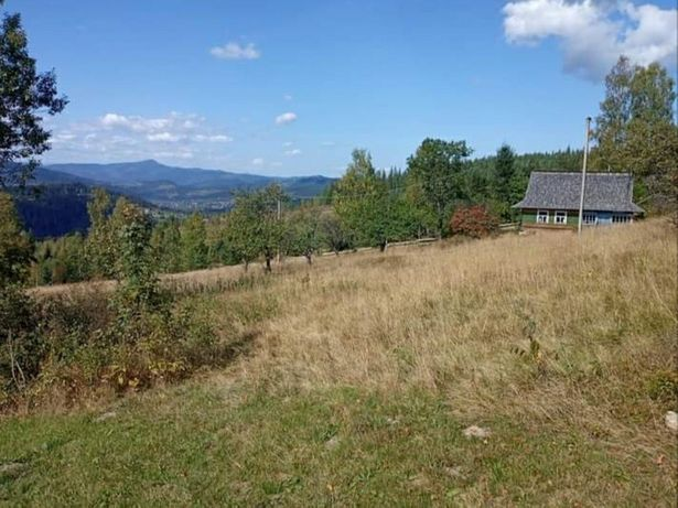 Земельна ділянка в Карпатах с. Микуличин 20 км до Буковеля