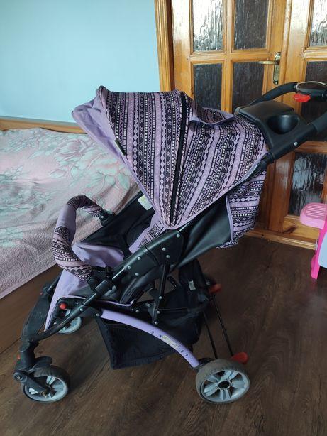 Прогулочная коляска BabyHit TETRA Violet
