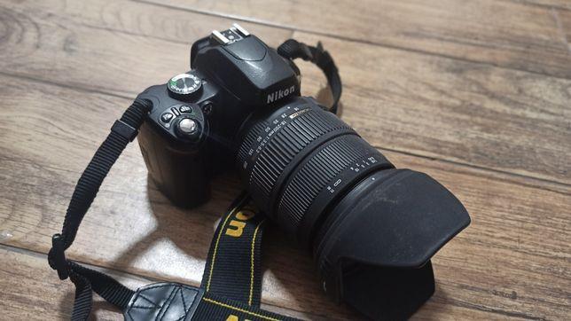 Nikon D60 + sigma 18-200 3.5-6.3