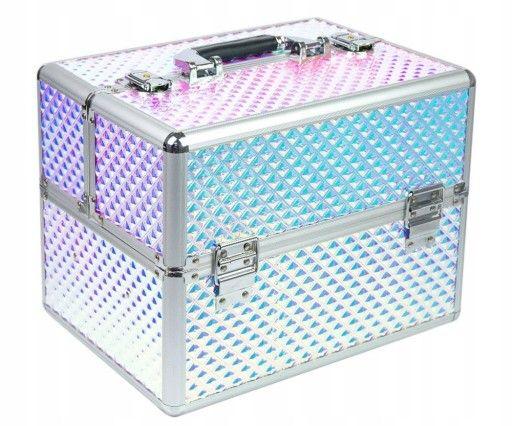 Kuferek kosmetyczny WALIZKA NA KOSMETYKI Unicorn Nowa Sól - image 1