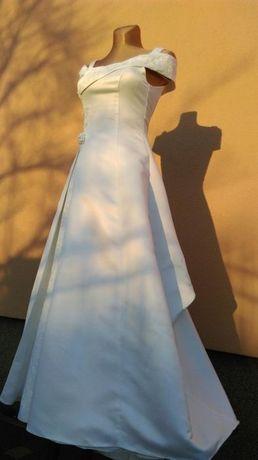 Biała suknia ślubna 36/38 buty gratis