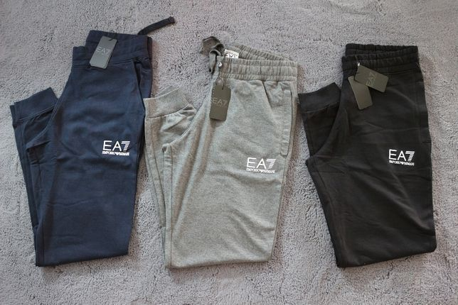 EA7 Emporio Armani Spodnie Dresowe! HIT!