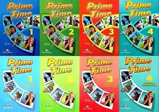 Друк книг Prime Time 1,2,3,4