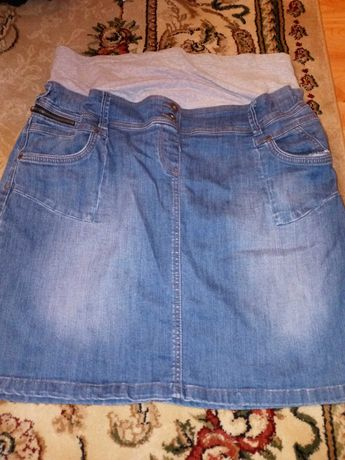 Spudnica ciążowa 48r.Jeans