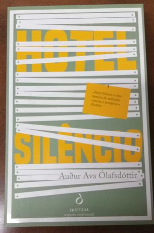 """Hotel Silêncio"" de Audur Ava Olafsdóttir (NOVO, PORTES INCLUÍDOS)"