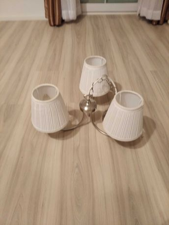 Żyrandol lampa Ikea ÅRSTID arstid z abażurkami