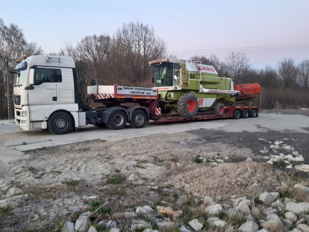 Transport niskopodwoziowy Bizon Claas John Deere New holland Case