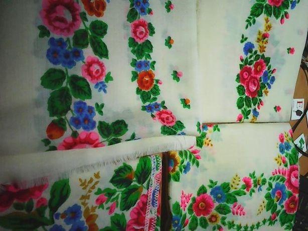 Новый шерстяной платок времён СССР