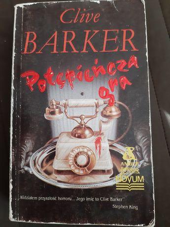 Książka Clive Barier Potępieńcza gra