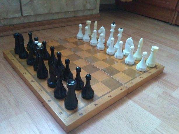 Шахматы СССР пластик
