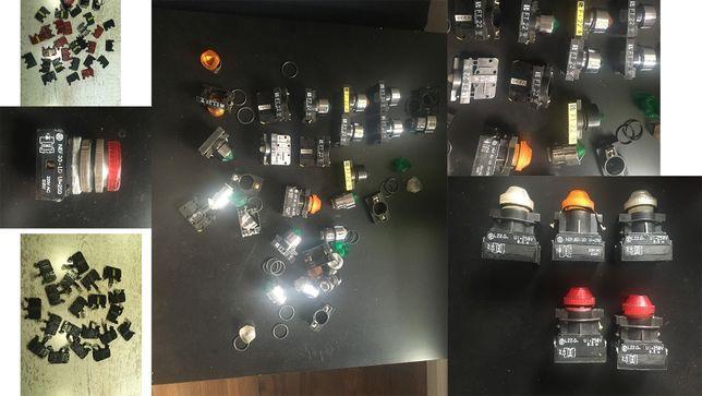 Lampka kontrolna tablicowa sygnalizacyjna ft22 l22d ok. 20 szt