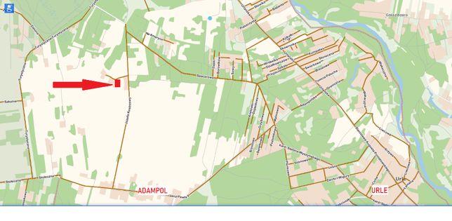Działka Urle nad Liwcem 2200m2