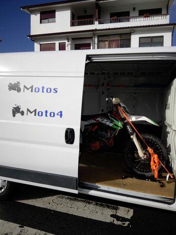 Transporte de moto e moto 4
