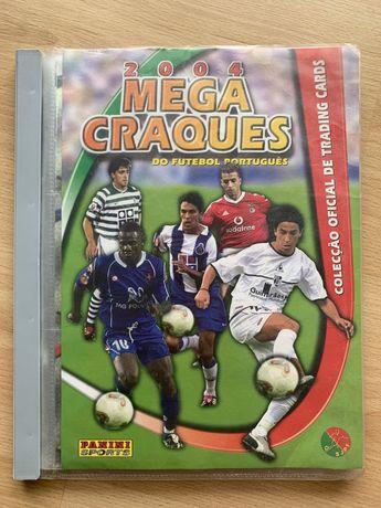 Mega Craques 2004 - Caderneta completa