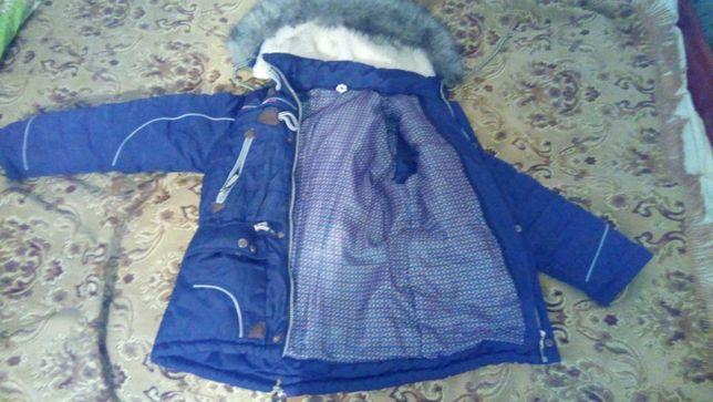 куртка на мальчика 8-10лет