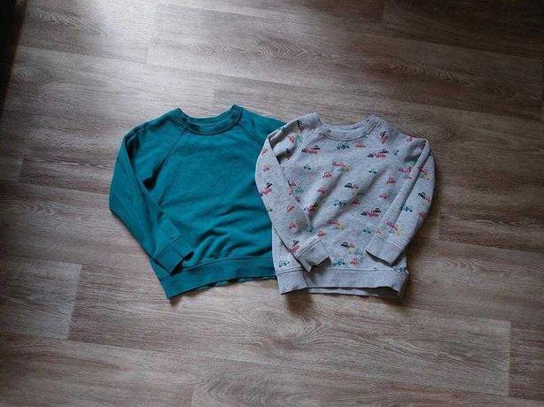 Теплый свитшот свитер кофта некст next 4-5 года 110 см