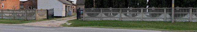 Płot betonowy, 30 m. ogrodzenia