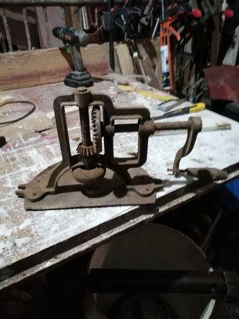 Stara maszynka do masla lub pralka